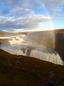 Golden circle rainbow,